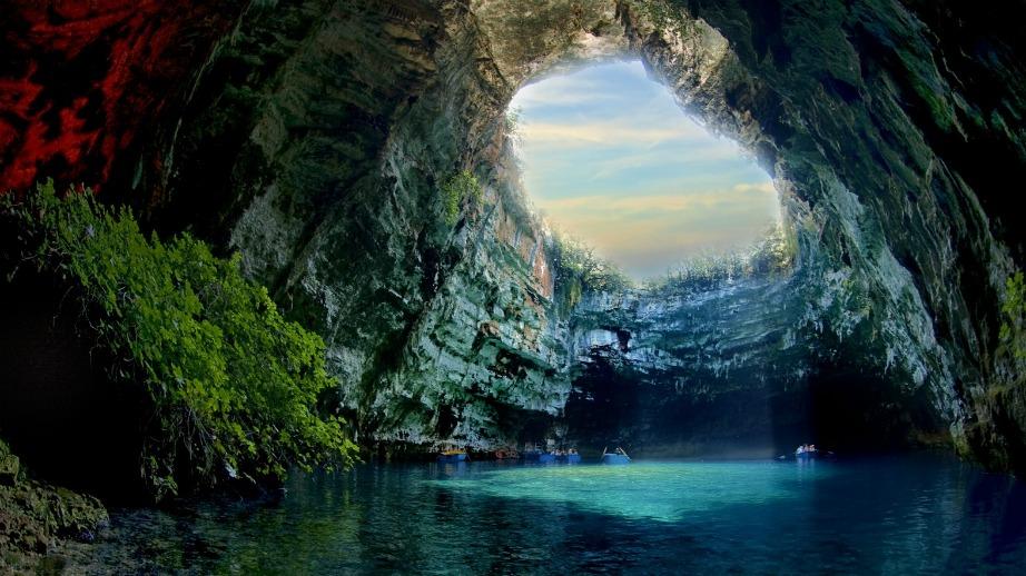 Αυτό το πανέμορφο τοπίο θα μπορούσε άνετα να αποτελεί σκηνικό ταινίας.