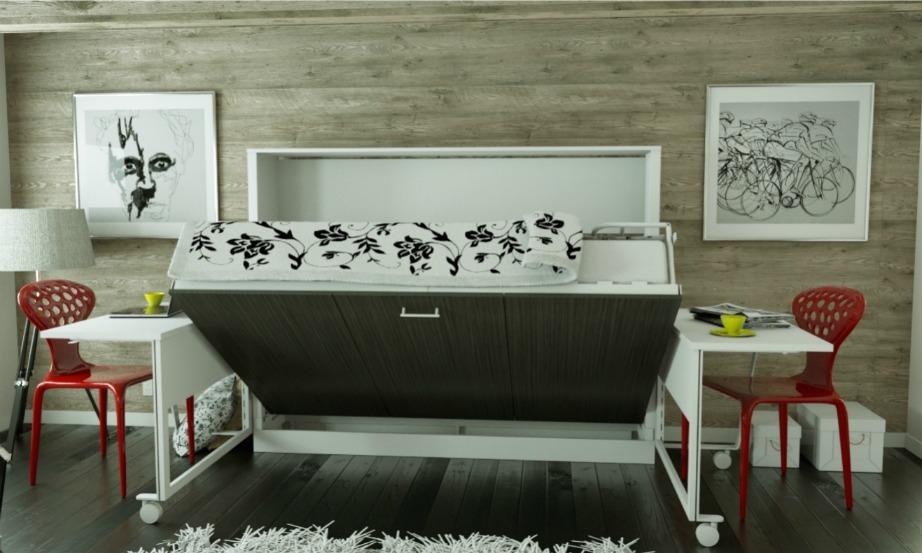 Μεταφέρετε αν γίνεται την κρεβατοκάμαρα στο σαλόνι και δημιουργήστε έτσι χώρο για ένα επιπλέον δωμάτιο.