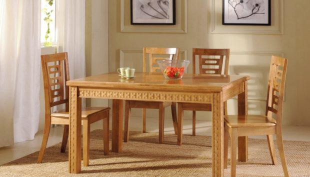 Φτιάξτε Μόνοι σας το πιο Απλό Τραπέζι για την Τραπεζαρία