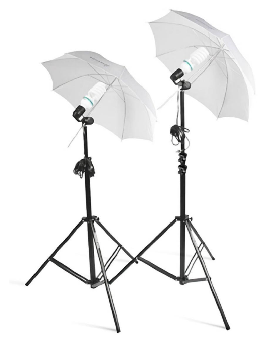 Χρησιμοποιώντας απλές ομπρέλες που θα βάψετε με ειδικό σπρέι μπορείτε να φτιάξετε μόνοι σας ομπρέλες για φωτογραφήσεις που κανονικά στοιχίζουν πάνω από 100 ευρώ.