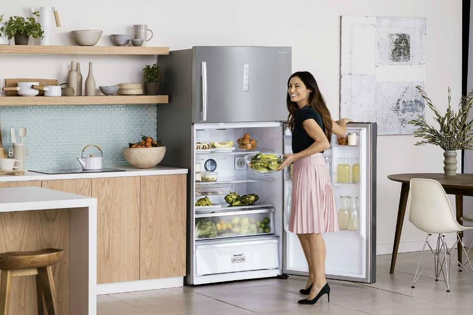 Με το πολυμορφικό εσωτερικού του μπορείτε να εξοικονομήσετε χώρο για περισσότερα τρόφιμα.