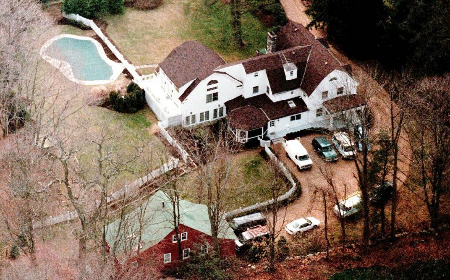 Το σπίτι από ψηλά.