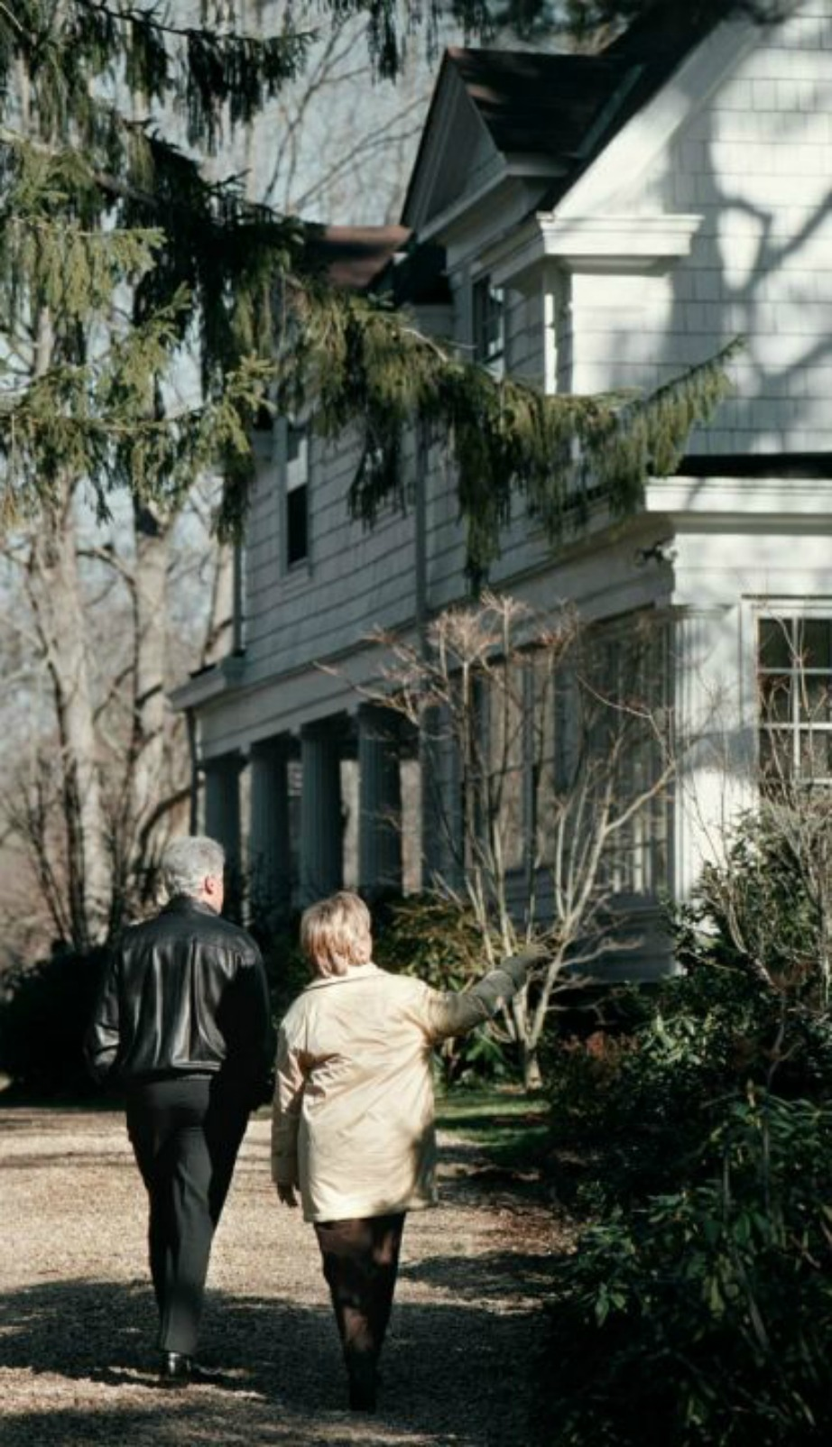Το σπίτι βρίσκεται μόλις 56 χιλιόμετρα από τη Νέα Υόρκη.