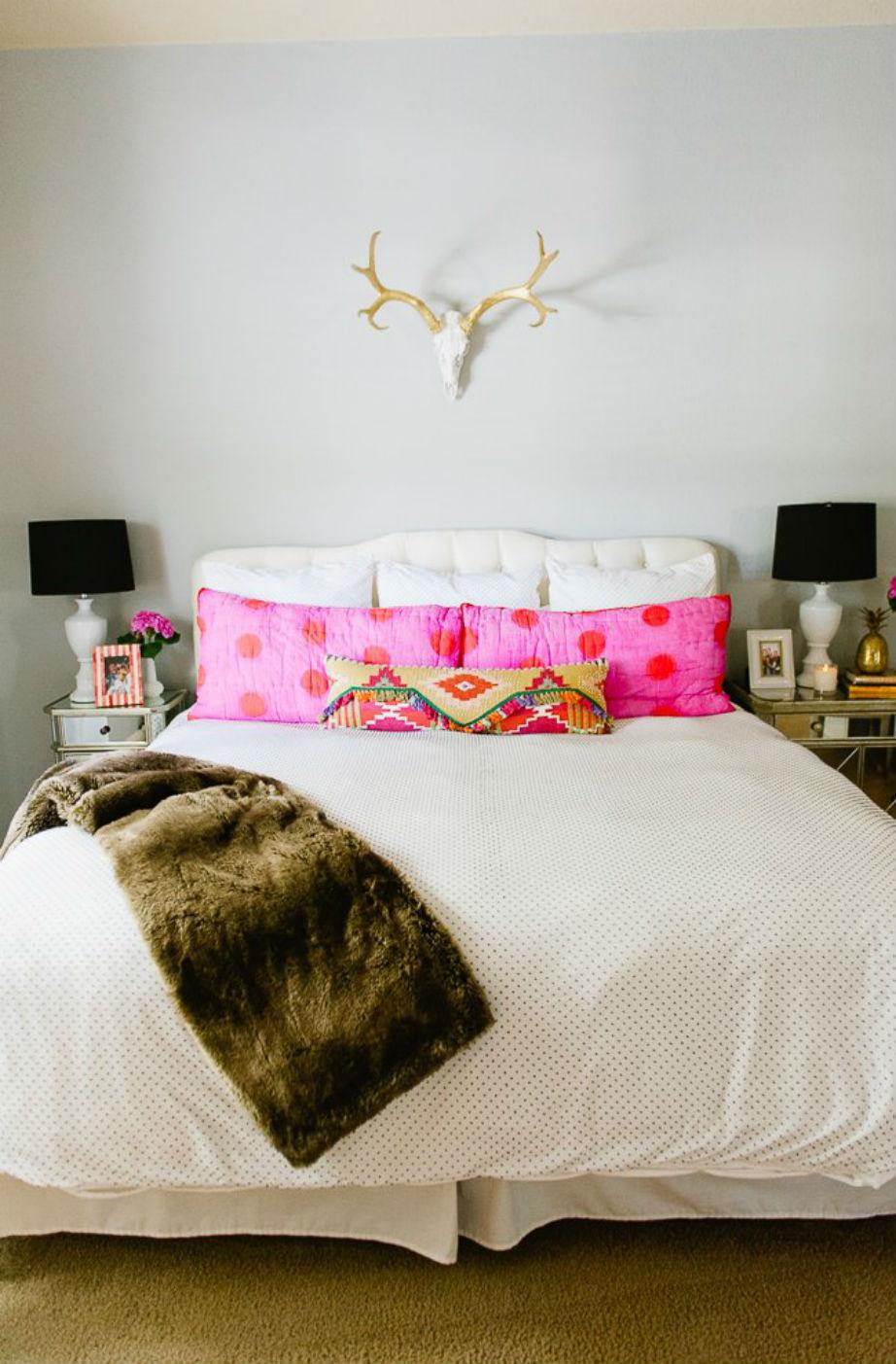 Η πανέμορφη κρεβατοκάμαρα της Katie.