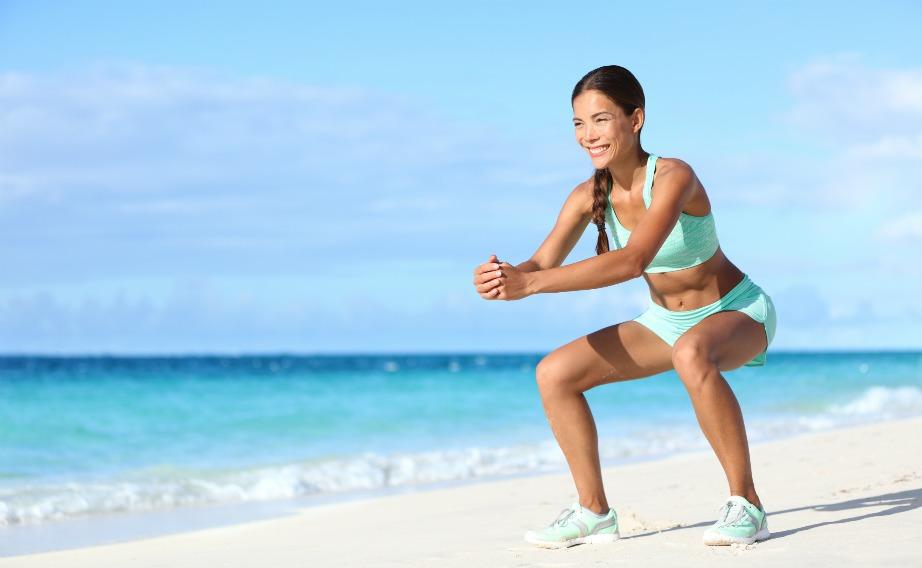 Τα squats είναι η τέλεια άσκηση κατά της κυτταρίτιδας.