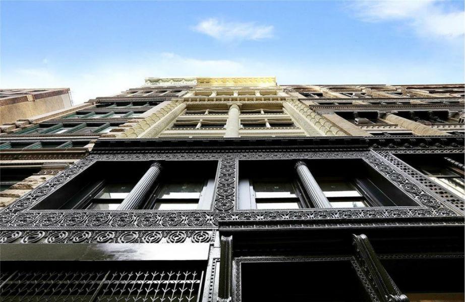 To κτίριο που στεγάζεται το νέο διαμέρισμα της Ashley Olsen είναι διατηρητέο.