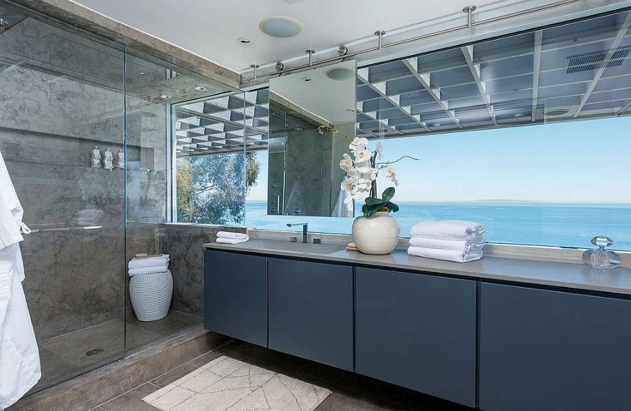 Το σούπερ μοντέρνο και στιλάτο μπάνιο.