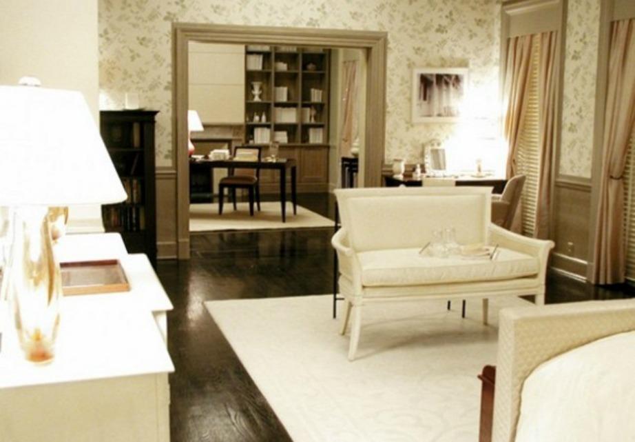 Το υπέροχο σαλόνι της Charlotte.
