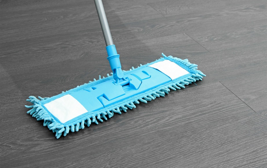 Προσοχή στην καθαριότητα laminate πατωμάτων.