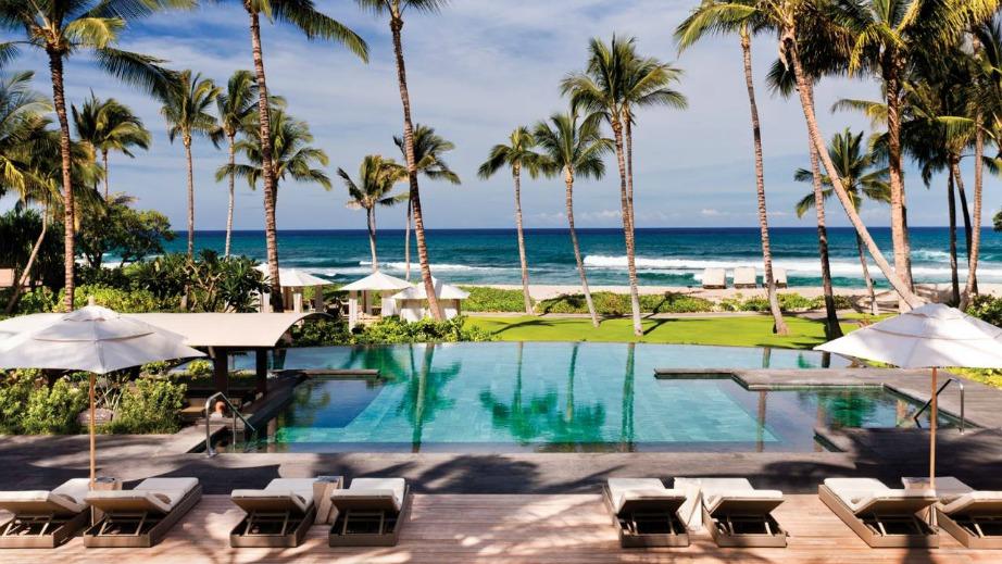 Από τη λίστα σίγουρα δε θα μπορούσε να λείπει η Χαβάη, ο απόλυτος τουριστικός προορισμός.