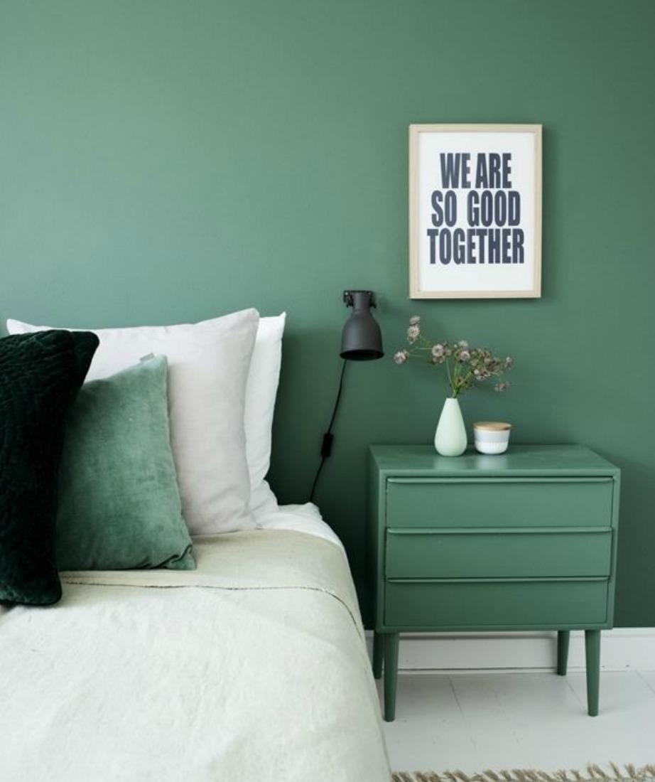 Δώστε σημασία στα χρώματα που κυριαρχούν στο δωμάτιό σας.