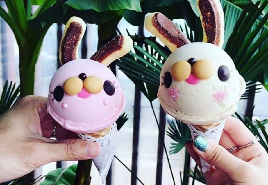 Τρεις είναι οι γεύσεις του παγωτού.
