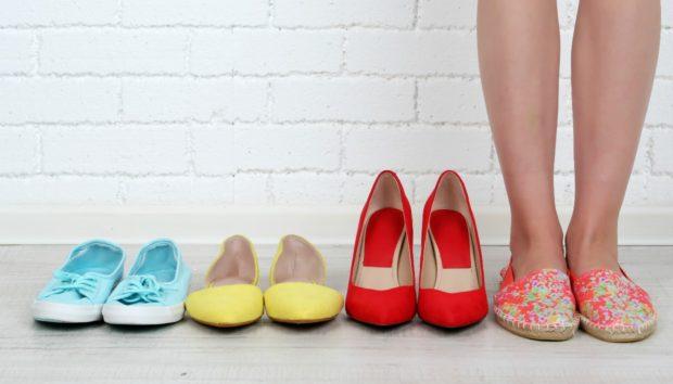 Ο πιο Ανατρεπτικός Τρόπος για να Αποθηκεύσετε τα Παπούτσια σας