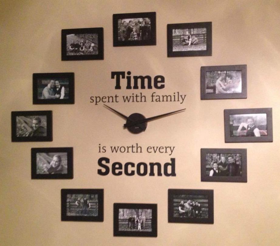 Φτιάξτε ένα ρολόι από φωτογραφίες!