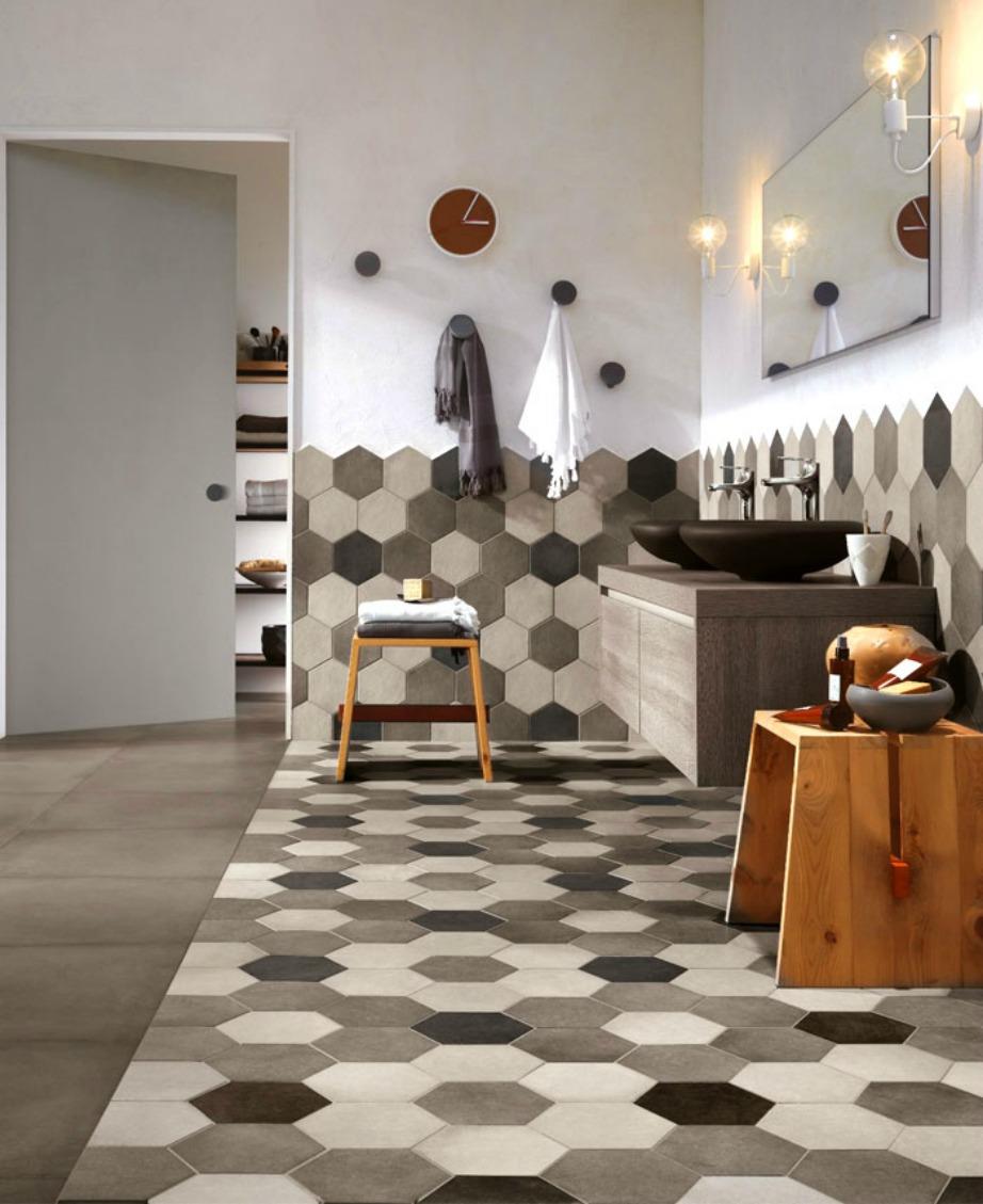Φυσικά υλικά για ένα κομψό και ιδιαίτερο μπάνιο.