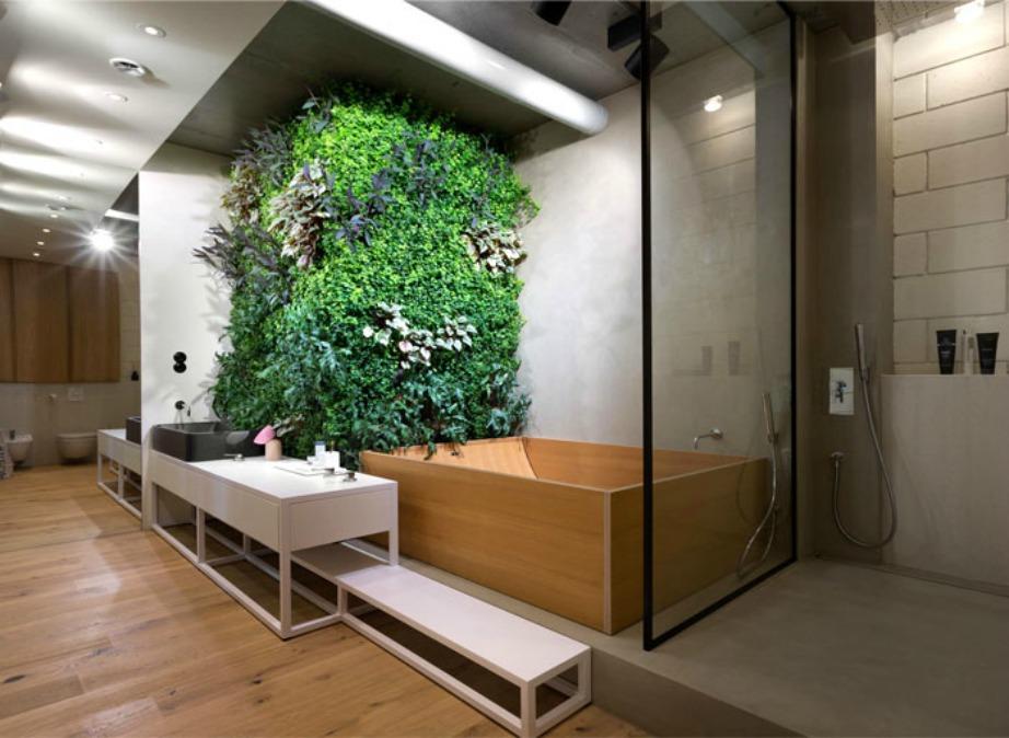 Τα φυτά είναι η μοναδική και αξιόπιστη λύση για να δώσετε ζωή στο μπάνιο σας.