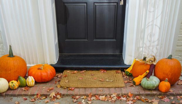 Φτιάξτε το πιο Φθινοπωρινό Διακοσμητικό για την Είσοδο του Σπιτιού