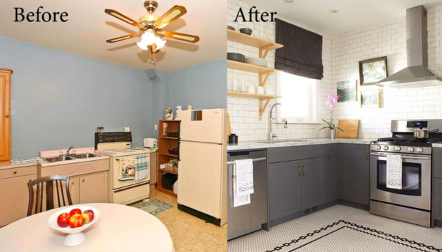 Πριν & Μετά: Δείτε την Απίστευτη Μεταμόρφωση μιας Κουζίνας