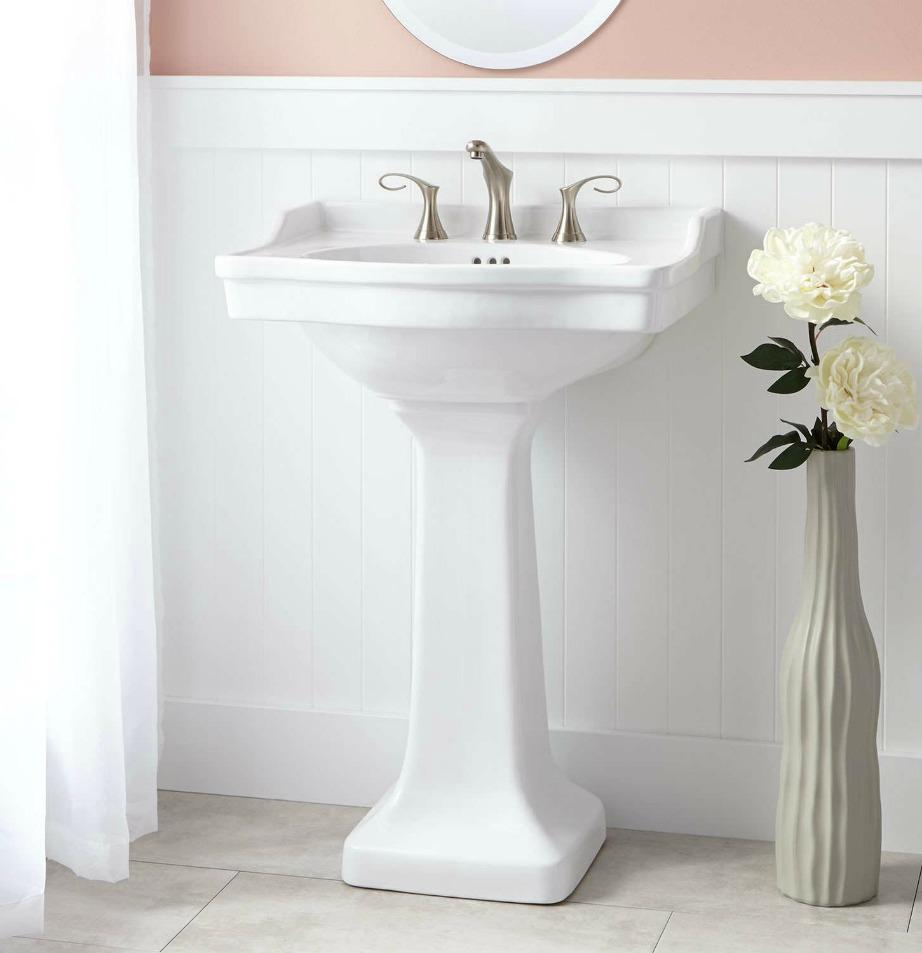 Οι λεπτοί νιπτ΄ρες δείχνουν πάντα πιο στυλάτοι. Έχετέ το στο νου σας για όταν θελήσετε να κάνετε ριζική ανακαίνιση στο μπάνιο σας.
