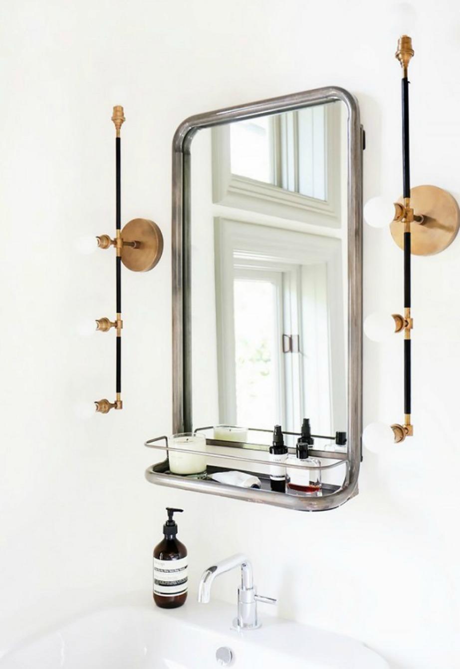 Βρείτε έναν ιδιαίτερο καθρέφτη που θα προσθέσει πόντους στιλ στο μπάνιο σας.