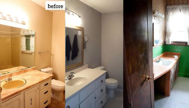 3 Μπάνια Πριν & Μετά: Θα σας Εντυπωσιάσει η Αλλαγή!
