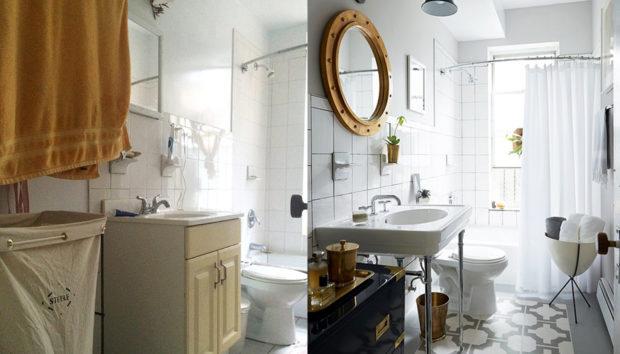 Πριν και Μετά: Η Πανέμορφη Μεταμόρφωση ενός Μπάνιου