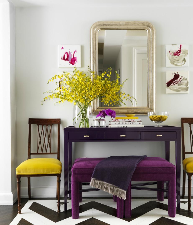 Είναι πολύ ωραίο πράγμα να μπαίνουν οι καλεσμένοι σας (αλλά και εσείς οι ίδιοι) σπίτι σας και να βλέπουν όμορφα χρώματα.