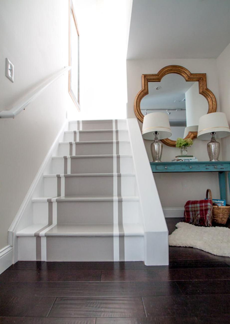 Δημιουργήστε έναν χρωματιστό διάδρομο στις σκάλες.