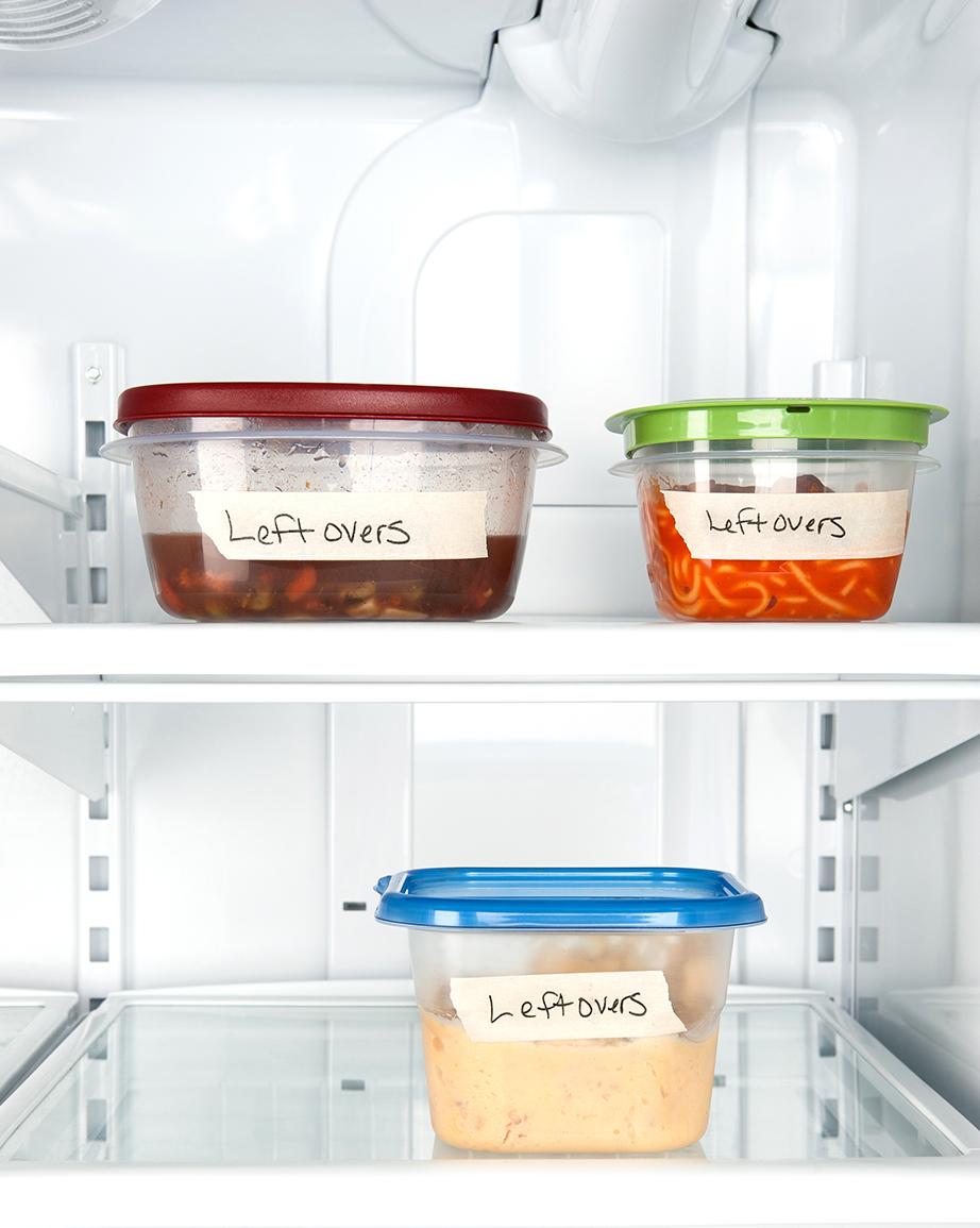 Κρατήστε μερίδες φαγητού στην κατάψυξη για τις ημέρες που το μαγείρεμα δεν θα αποτελεί προτεραιότητα.