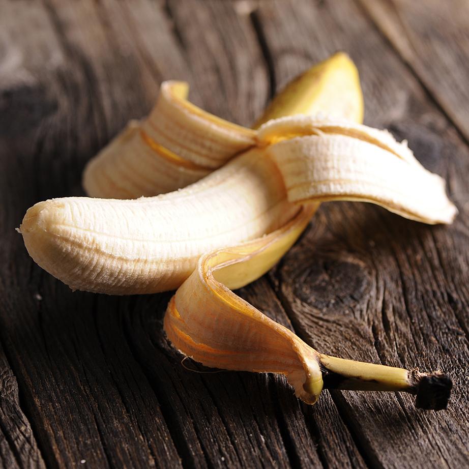 Μπανάνα για το γυάλισμα των ασημικών.
