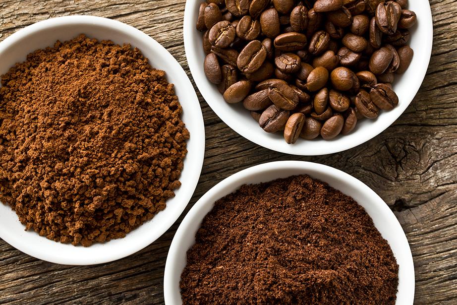Καφές για τις δυσάρεστες οσμές.
