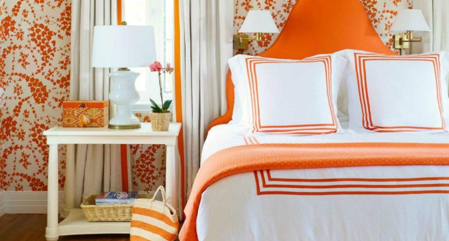 Το πορτοκαλί χρώμα είναι μια υπέροχη επιλογή για φθινοπωρινή διακόσμηση.
