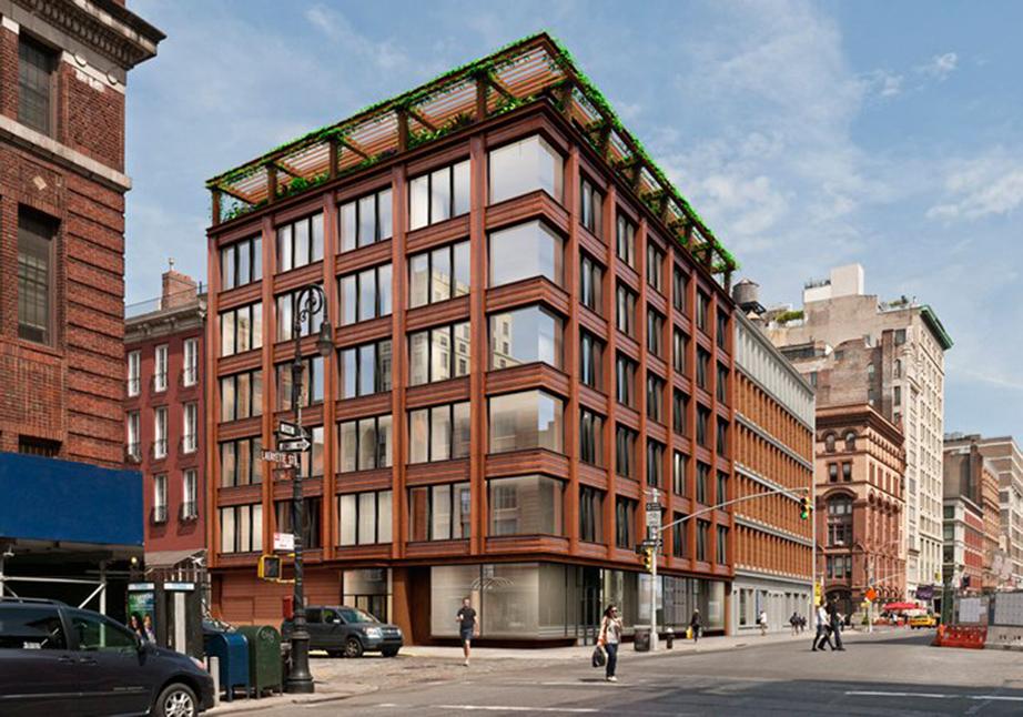 Το κτήριο όπου βρίσκεται το νέο διαμέρισμα της GiGi Hadid.