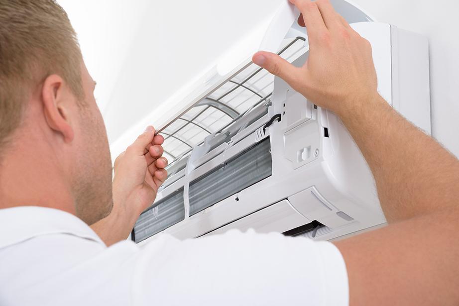 Καθαρίστε ή αλλάξτε τα φίλτρα του κλιματιστικού.