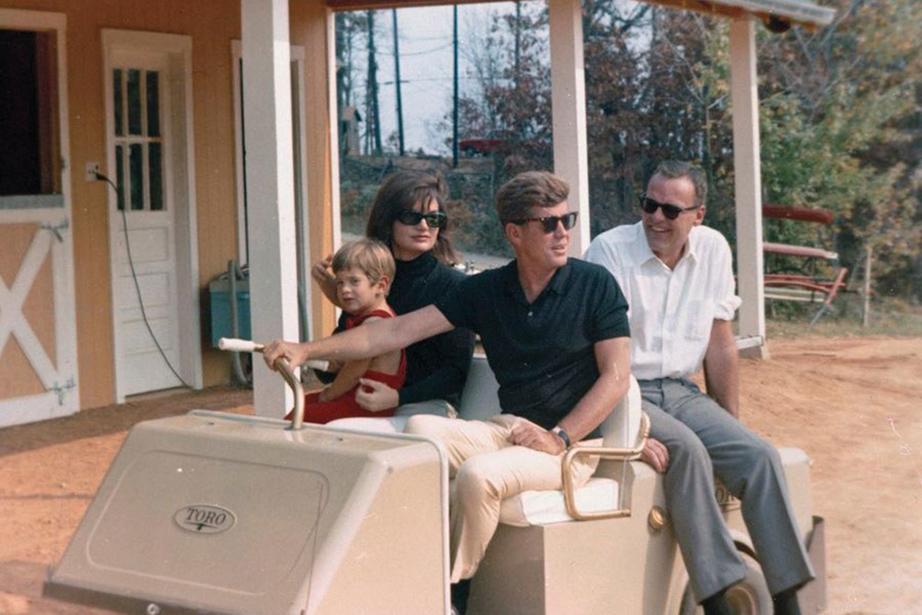 Φωτογραφία αρχείου της οικογένειας Κένεντι από την εξοχική κατοικία στην Βιρτζίνια. Από Architectural Digest.