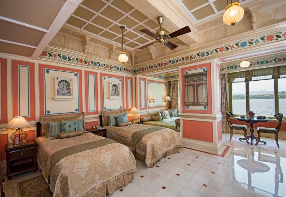 Εσωτερικά τα 83 δωμάτια είναι βουτηγμένα στην πολυτέλεια!