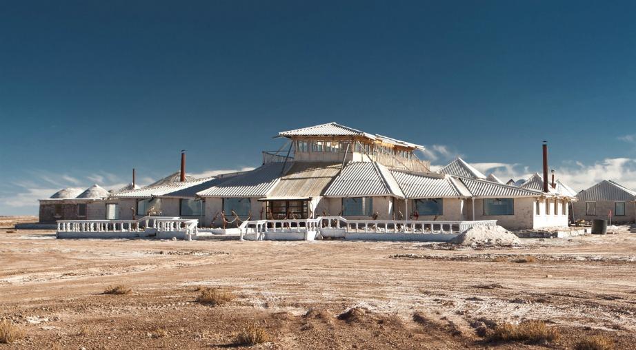 Ένα ξενοδοχείο φτιαγμένο από αλάτι!