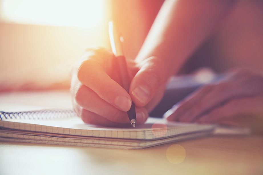 Σημειώσεις με όσα κρατήσατε και όσα απορρίψατε θα σας βοηθήσουν για την οργάνωση και τις αγορές σας στο μέλλον.