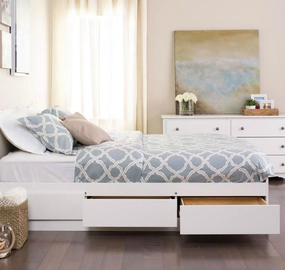 Οι αποθηκευτικοί χώροι στα κρεβάτια είναι πολύ χρήσιμοι όταν το δωμάτιό σας είναι μικρό.