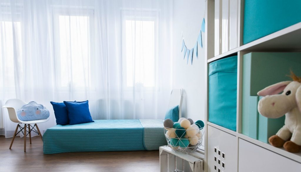 6a0dad9bb9a Μπλε Παιδικό Δωμάτιο: Ιδέες Διακόσμησης για Αγόρια και Κορίτσια