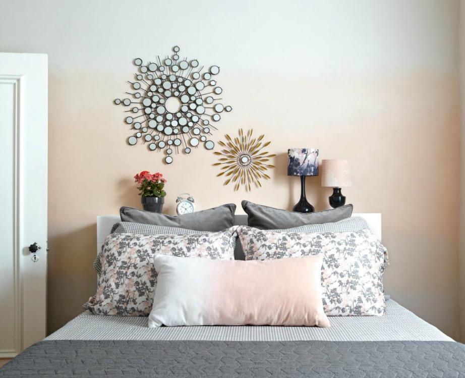 Δημιουργήστε ένα ωραίο αποτέλεσμα βάφοντας τον τοίχο σας ombre.