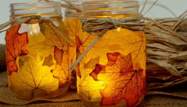 Υπέροχες DIY Ιδέες Διακόσμησης με Φθινοπωρινά Φύλλα (VIDEO)