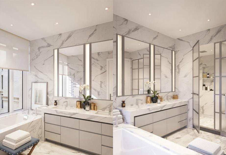 Το υπέροχο μπάνιο του διαμερίσματος!