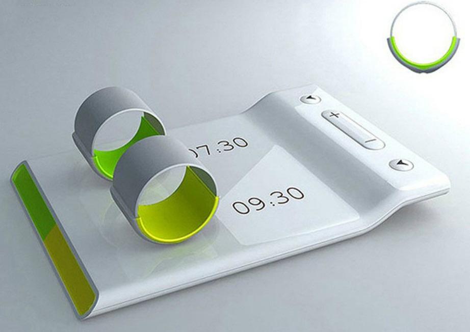 Κάθε πρωί τοποθετείτε και πάλι τα δαχτυλίδια στην ειδική πλατφόρμα για να φορτιστούν.