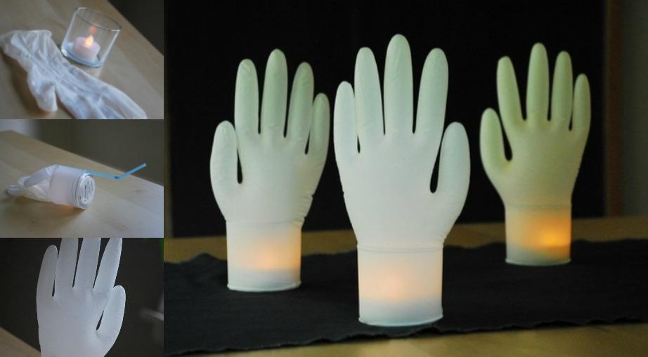 Άλλος ένας ενδιαφέρον τρόπος για να διακοσμήσετε με κεριά.