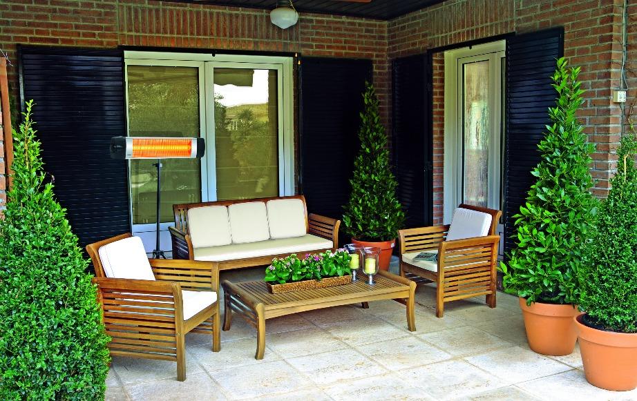 Με τον σωστό τύπο θέρμανσης μπορείτε να αξιοποιήσετε τη βεράντα και τον κήπο σας ακόμα και τους χειμερινούς μήνες.