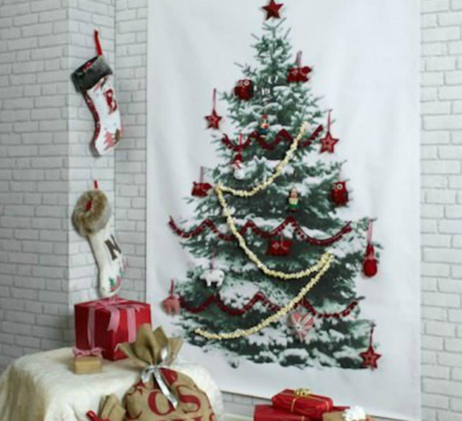 Τοποθετήστε και τα δώρα από κάτω του σαν να είναι αληθινό δέντρο.