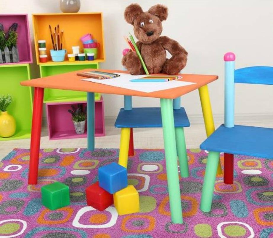 Ζωηρές αποχρώσεις, ιδανικές για το παιδικό δωμάτιο.