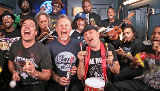 Jimmy Fallon και Metallica Σπάνε το Κοντέρ του You Tube με ένα Βίντεο