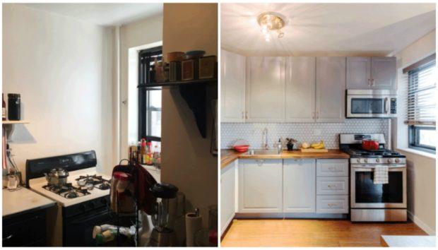 Απίστευτο! Δείτε Πόσο Άλλαξε Αυτή η Μικρή Κουζίνα στο Brooklyn